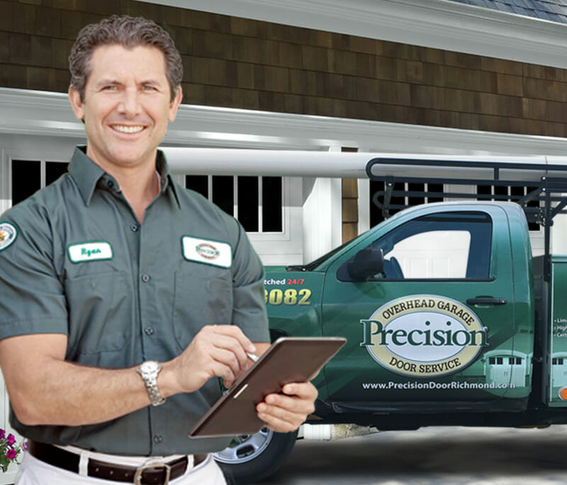 New Garage Door Openers Precision Of Richmond Va