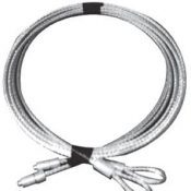 precision garage door aircraft grade stainless steel cables